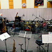 Studio für Jazz-, Pop- und Rockaufnahmen
